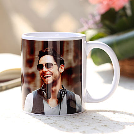 Personalised White Ceramic Mug