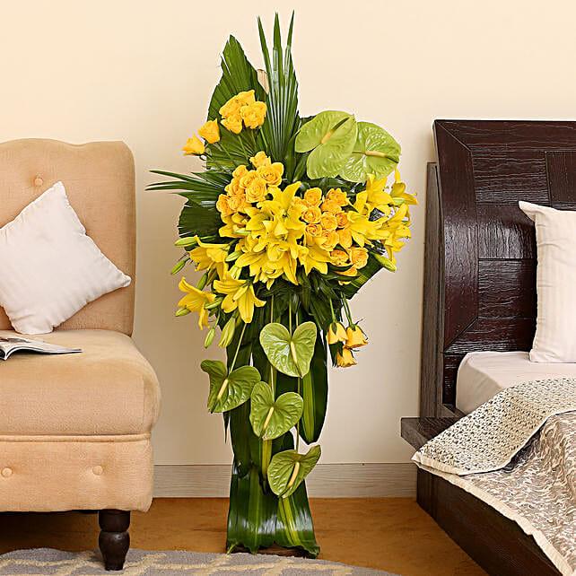 Online Yellow Flowers Bouquet