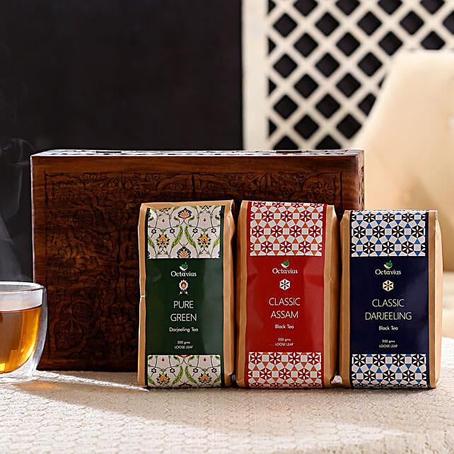 Green Tea in Exclusive Wood Box