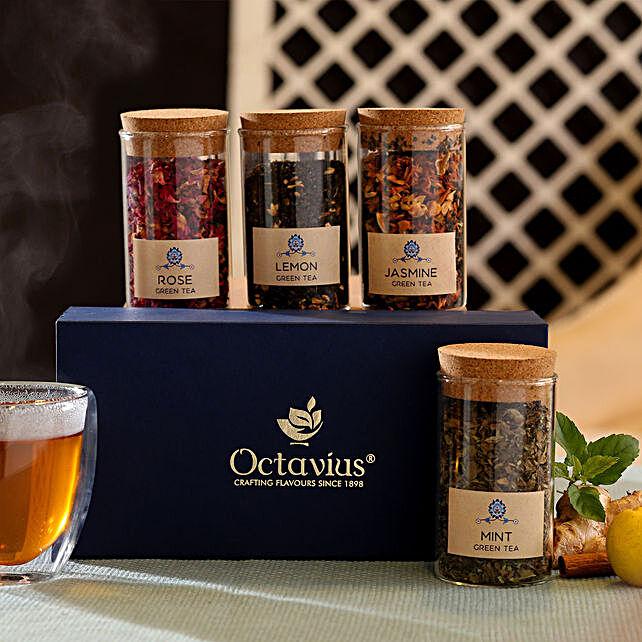Green Tea in Glass Jar Online