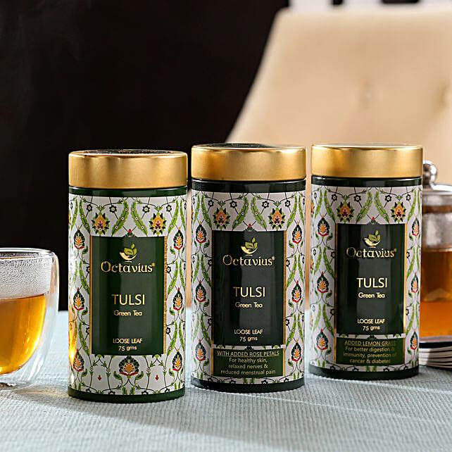Combo Of 3 Tulsi Tea Boxes