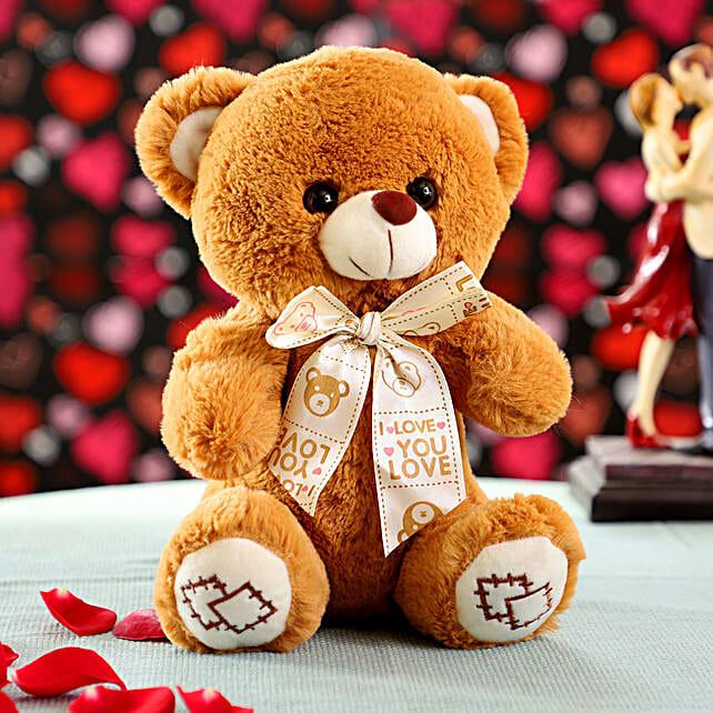 mini brown teddy bear
