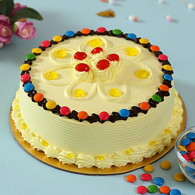 Designer Butterscotch Gems Cake Online