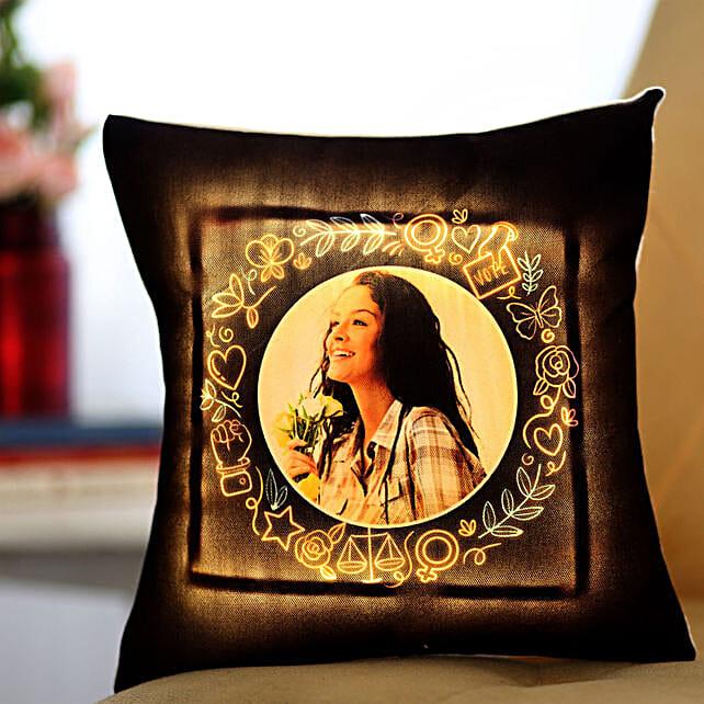 Photo LED Cushion For Women's Day