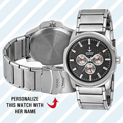 personalised wrist watch for him