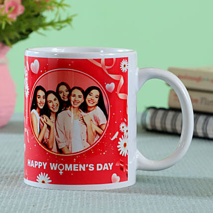 womens day printed mug for colleague