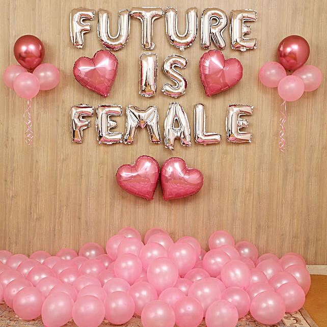 Future Is Female Balloon Décor