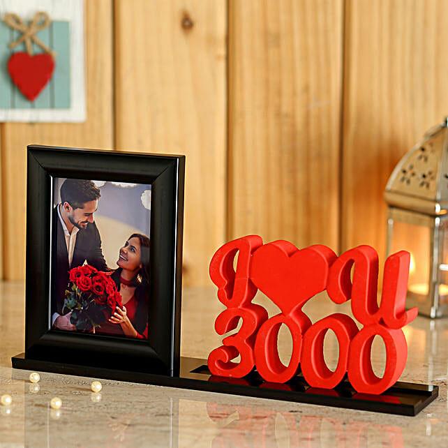 Customise Love U Printed Photo Table Top