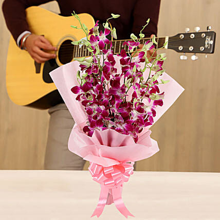 Online Bunch Of Orchids Musical Tunes
