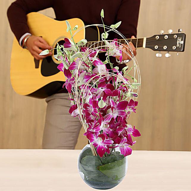Online Orchids Arrangement Musical Love
