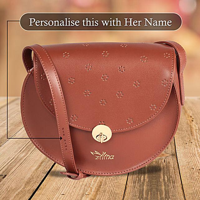 Brown Sling Bag for Girls Online