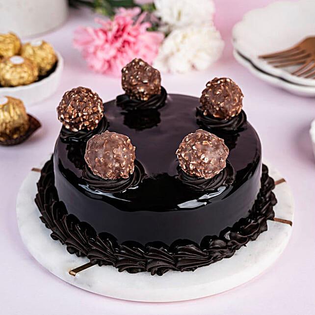 special Ferrero rochre truffle cake online