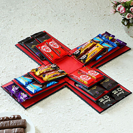 online explosion of chocolates box:Luvit Chocolates