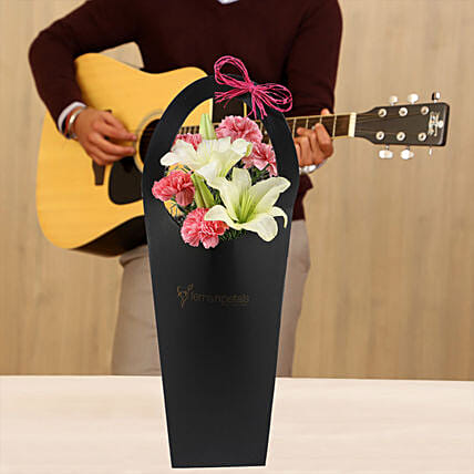 lovely floral with musical rhythms