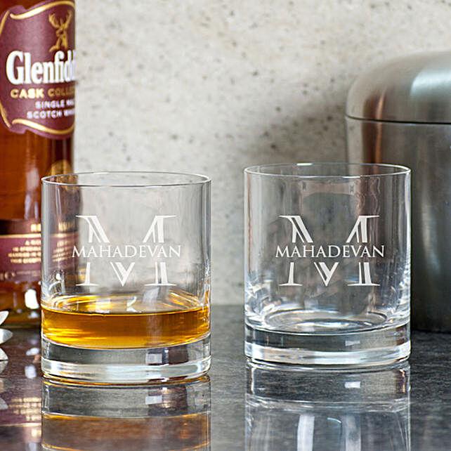 Customised Whiskey Glasses Set Online