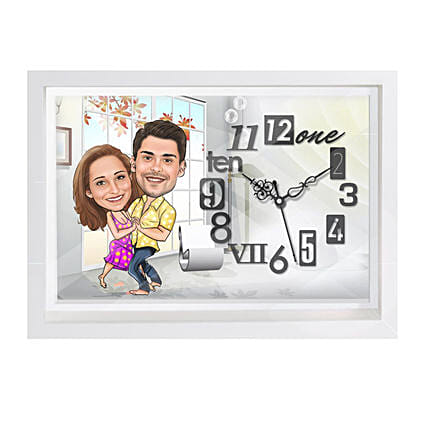Buy Online Caricature Wall Clock