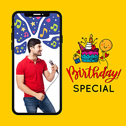 Birthday Special Songs By Professional Singer:Singers On call
