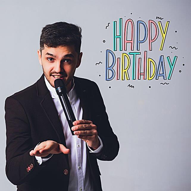 Birthday Personalised Poetry On Video Call:Birthday Digital Gifts
