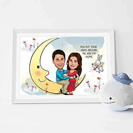 Personalised Online Caricature Frame