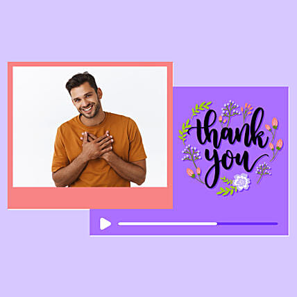 Thank You Personalised Video