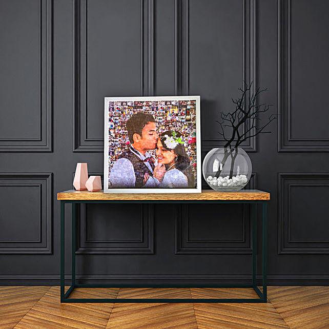 30 photo mosaic frame online