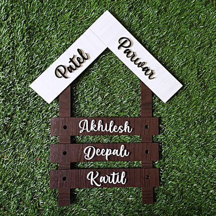 Designer Name Plate For House:Personalised Name Plates
