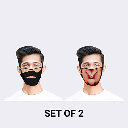 funny face mask for him