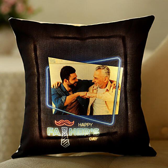 photo led cushion for dad
