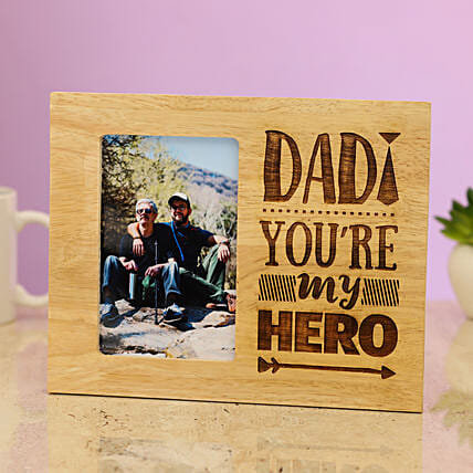 wooden photo frame for dad:Fathers Day Photo Frame Gifts