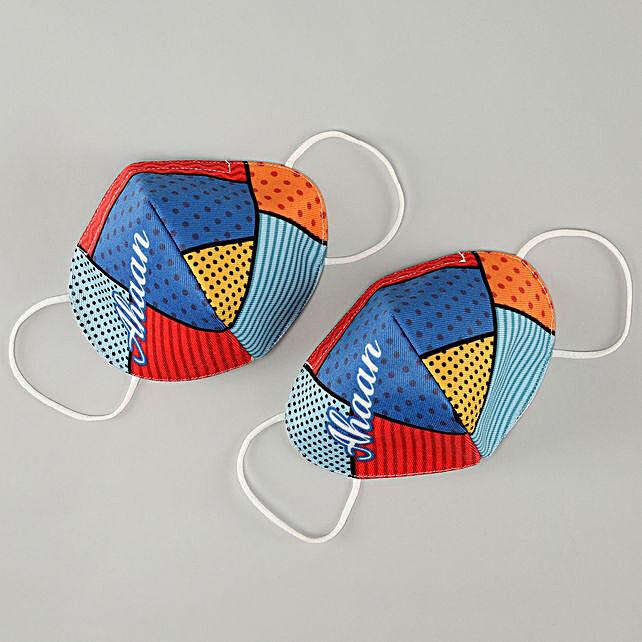 Personalised Colourful Masks:Personalised Face Masks