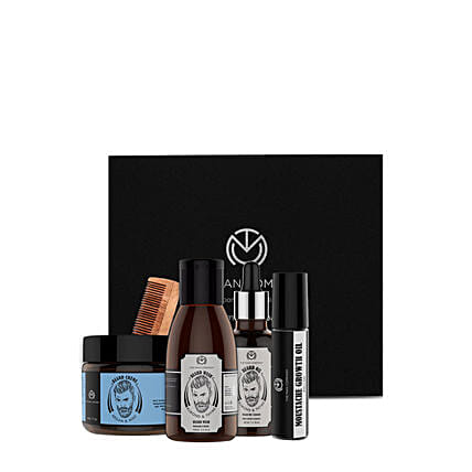 The Man Company Beard Kit:The Man Company Beard Styling Gift Sets