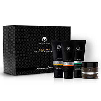 The Man Company Face Care Box:Gift Sets