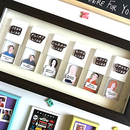FRIENDS Matchbox Frame White