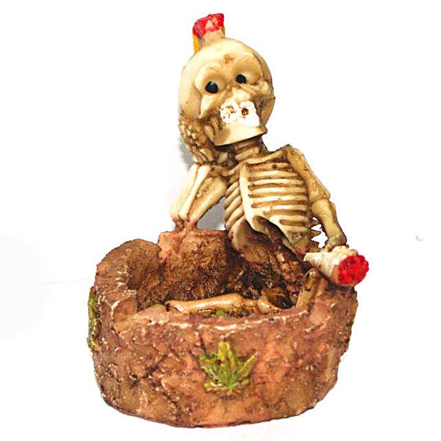 Skull Ashtray  Assorted:Halloween Gifts