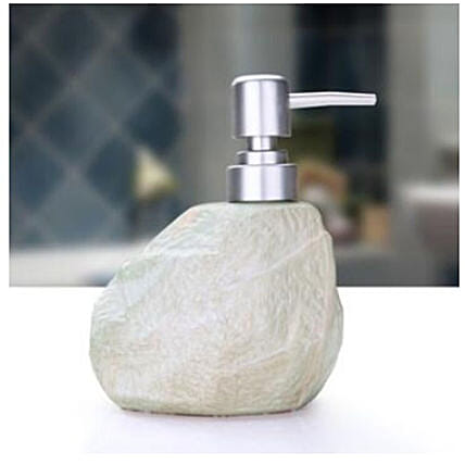 Stone Soap Dispenser St Green