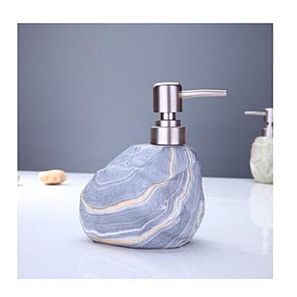 Stone Soap Dispenser St Grey