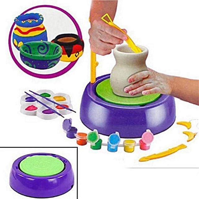 Pottery Wheel Set For Kids