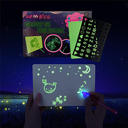 Glow in Dark Painting Board