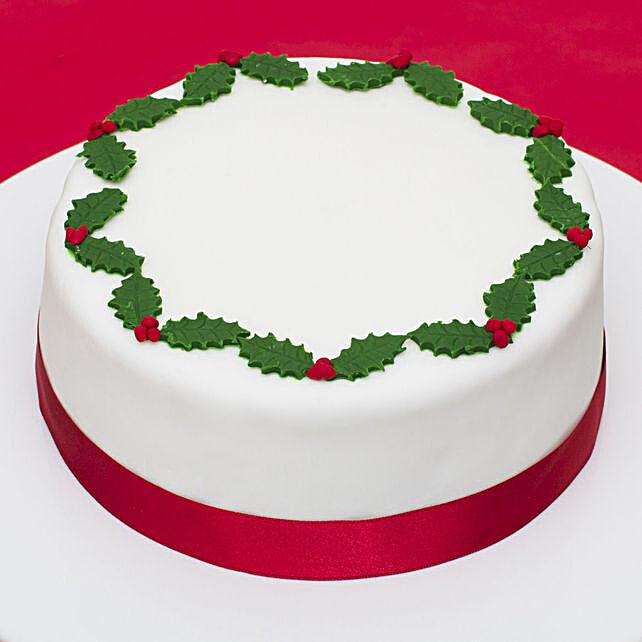 Designer Christmas Theme Cake Online
