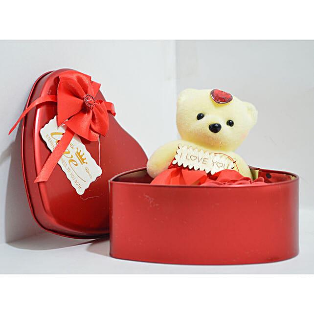 Teddy Heart Box Order