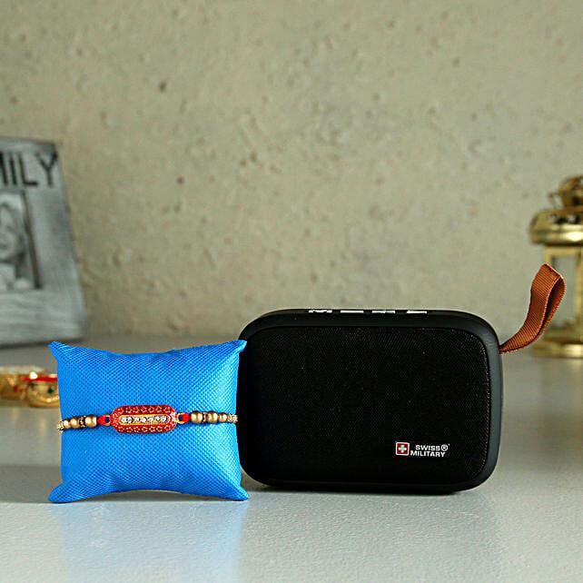 Online  Bluetooth Speaker And Rakhi