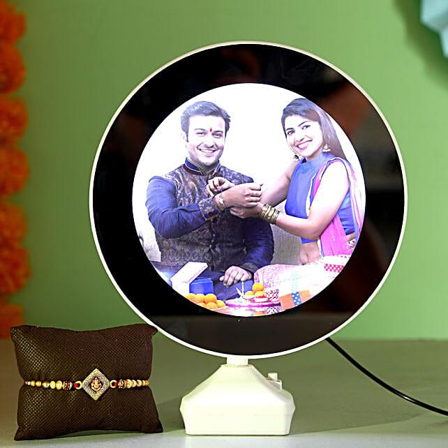 Online Mirror With Rakhi