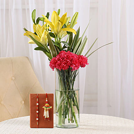 Exclusive Carnation and Rakhi Online