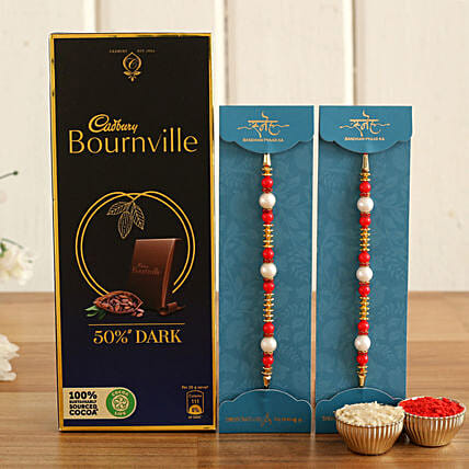Pearl Rakhis & Bournville Chocolate