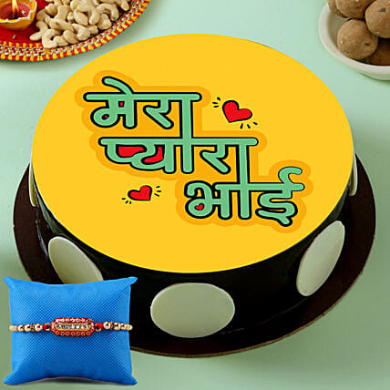 Rakhi Cake for Bhai Online