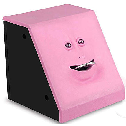 Coin Bank Toy Pink