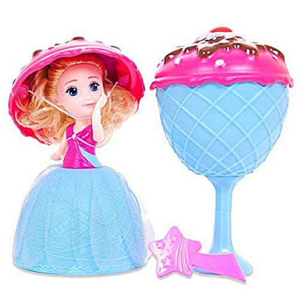 Transform to Mini Princess Doll