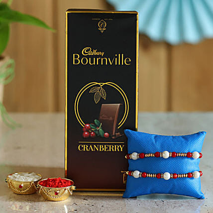 Rakhi and Dark Chocolate Online