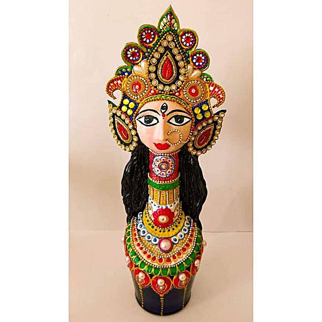 Online Bottle With Durga Idol