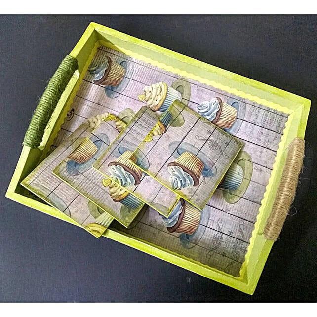Online Decoupaged Tray